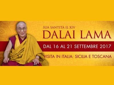 Dalai Lama Italia 2017