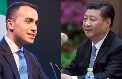 Luigi Di Maio-vicepremier-ministro del lavoro-shanghai-cina-china international import expo-aref international onlus
