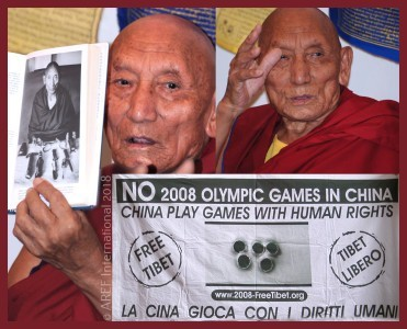 Palden Gyatso-tibet-dalai lama-marilia bellaterra-aref international onlus-india