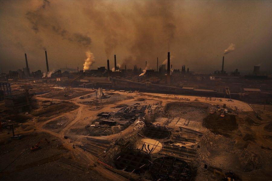lu guang-inquinamento in cina-inquinamento-cina-xinjiang-pollution in china-aref international onlus