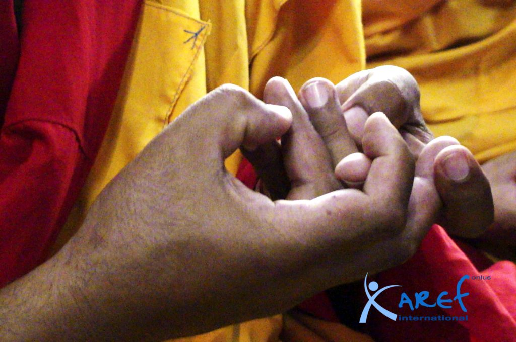 monaci tibetani-monaco tibetano-aref international onlus-monastero di Sera-Lhasa Tibet-Tibet-monaci tibetani Lhasa