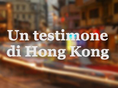 un testimone di hong kong