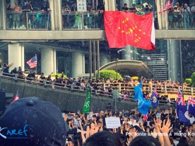 manifestazioni Cina e Hong Kong