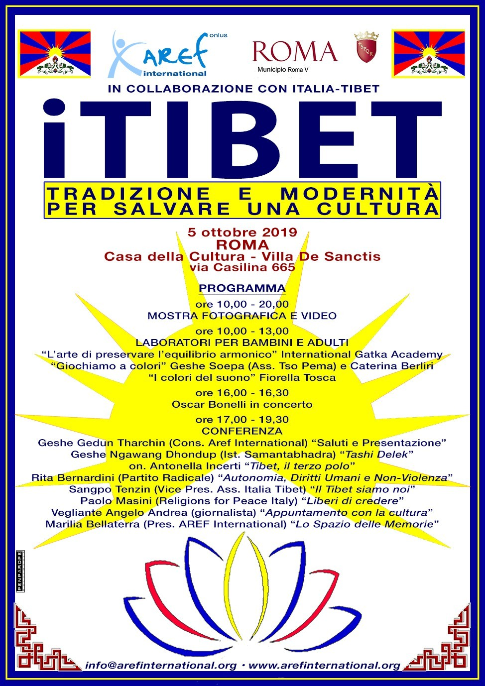locandina itibet tradizione e modernità per salvare una cultura