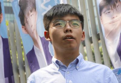Joshua Wong no espatrio in Italia aref international onlus