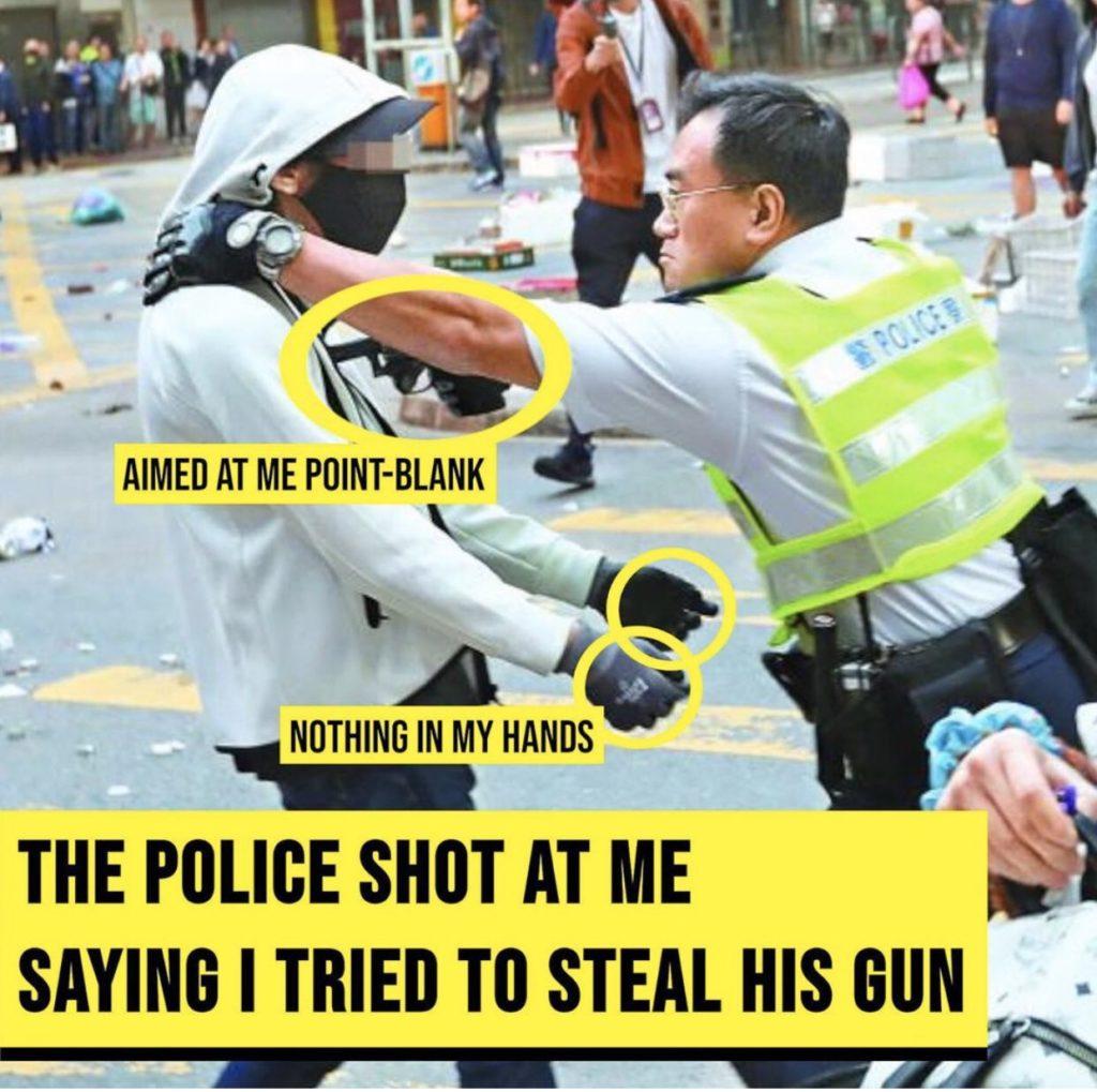 scontri polizia proteste hong kong
