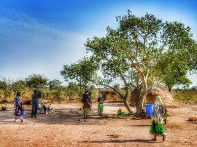villaggio in ghana
