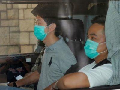 i due parlamentari pro-democrazia arrestati a Hong Kong
