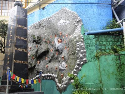 tibetan national martyrs memorial cina