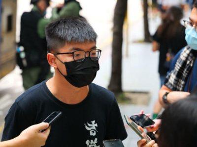arresto joshua long aggiornamento hong kong