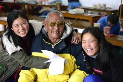 anziani tibetani