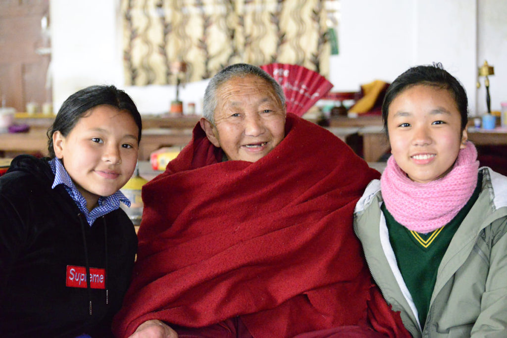 il valore degli anziani tibetani