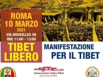 giornata nazionale della rivolta tibetana 10 marzo 2021