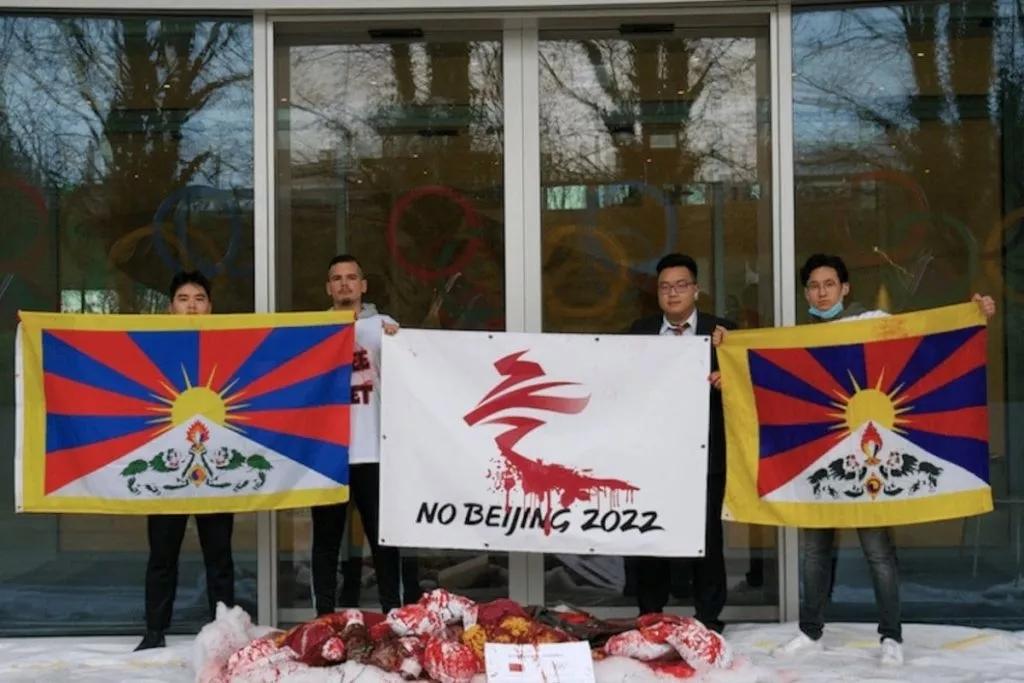 proteste tibetani tokyo 2022